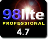 98lite Professional v4.7 customises Windows 98, 98SE and Windows Millennium for the ultimate in speed, efficiency and bloat reduction!